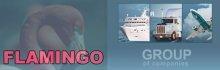 Фламинго Груп. Обединява няколко отделни компании, предлагащи продукти и услуги в различни сектори.